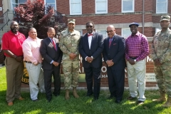Grand Polemarch visits Ft. Knox